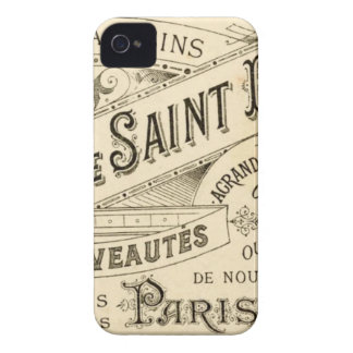 Vintage French Advertisement iPhone 4 Covers