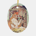 Vintage French Art Ornaments