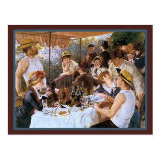Vintage French Bar Cafe Postcard