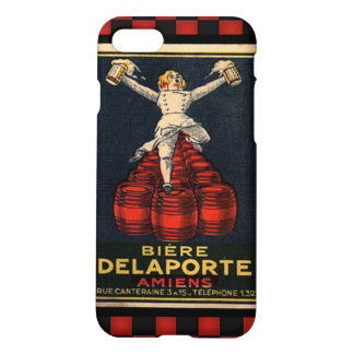 Vintage French Beer Retro Alcohol Advertising Art iPhone 7 Case