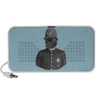 Vintage French Bulldog Policeman Speaker System