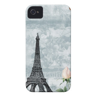 Vintage French Butterflies and Roses iPhone 4 Covers