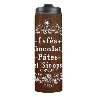 Vintage French Cafes Chocolat Pates et Sirops Mug