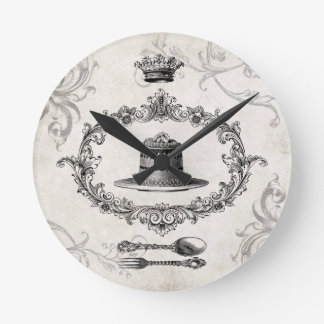 Vintage French Cake wall clock