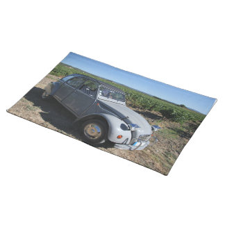 Vintage French car Place Mats