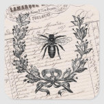 Vintage French Chic Honey Bee Stickers