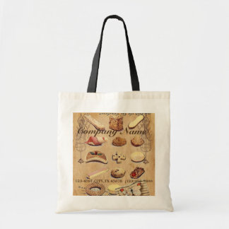 vintage french chocolate pastry cookies bakery bags