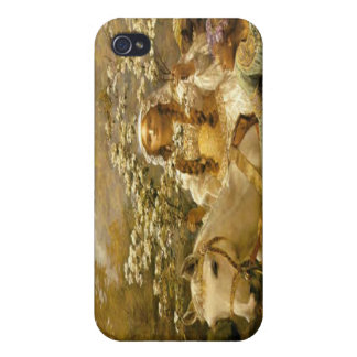 Vintage French Country Lady Horse iPhon iPhone 4 Covers