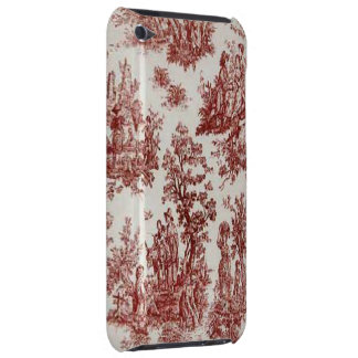 Vintage French Country Red Toile iPod Touch iPod Touch Case