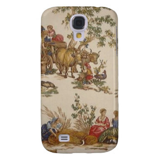 Vintage French Country Toile Case iPhone 3G/3GS Galaxy S4 Case