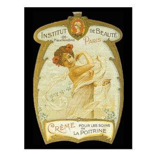 Vintage French Creme Ad Postcard