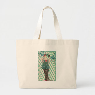 Vintage French Fashion Canvas Bags