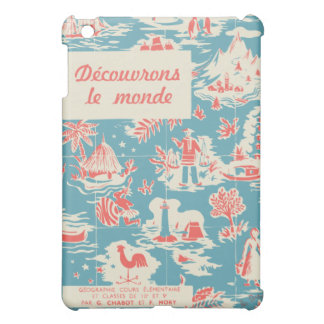 Vintage French Kids Book Cover iPad Mini Covers