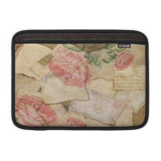 Vintage French Letters and Post Cards MacBook Air Sleeve