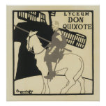 Vintage French Posters - Don Quixote