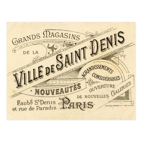 Vintage French Publicity Postcard