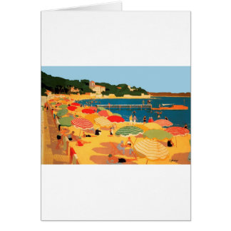 Vintage French Riviera Beach Cards