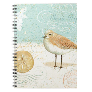 Vintage French Sand Piper Notebooks