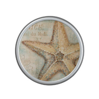 Vintage French Starfish Art Speaker