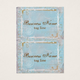 Vintage french business cards business card printing zazzle uk vintage french toile elegant mini card tags reheart Gallery