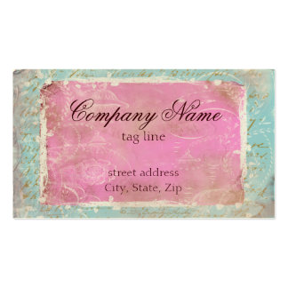 Vintage French Toile & Script No.1 Standard Pack Of Standard Business Cards