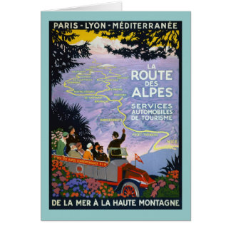 Vintage French Travel Poster Art Cards