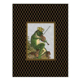 Vintage Frog Prince Charming Postcard