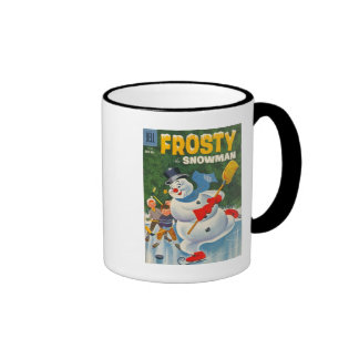 Vintage Frosty on Skates Mugs