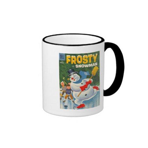 Vintage Frosty on Skates Mugs