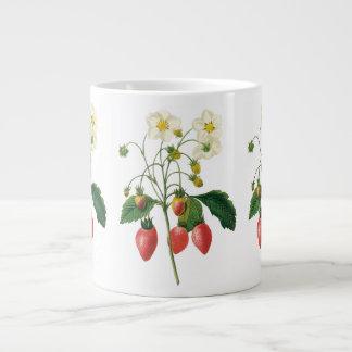 Vintage Fruit Berries Food Strawberries by Redoute Jumbo Mug