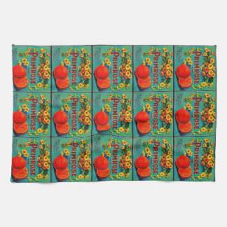 Vintage fruit co. kitchen towel