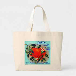 Vintage Fruit Crate Label Tote Bags