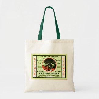 Vintage Fruit Crate Label Budget Tote Bag