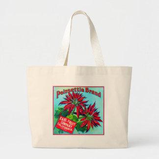 Vintage Fruit Crate Label Canvas Bag