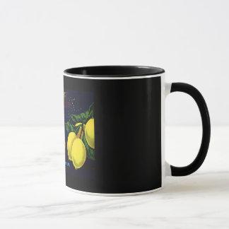 Vintage Fruit Crate Lable Mug