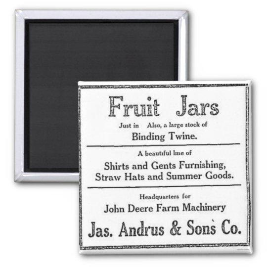 Vintage Fruit Jars for Sale Dixie Utah Magnet