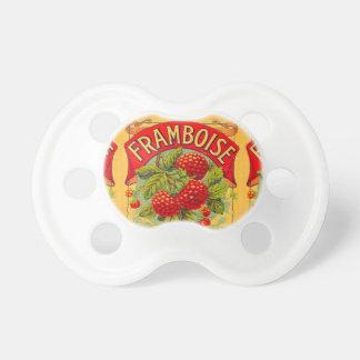 Vintage Fruit Label Pacifier