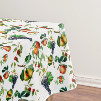 Vintage Fruit Tablecloth