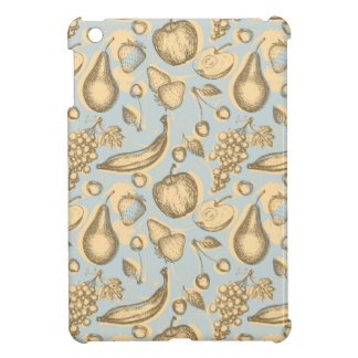 Vintage fruits pattern case for the iPad mini
