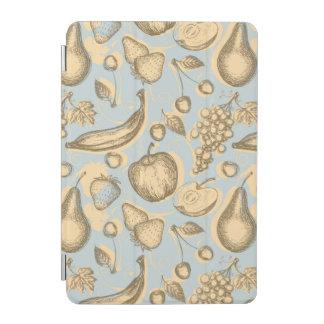 Vintage fruits pattern iPad mini cover