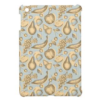 Vintage fruits pattern iPad mini covers
