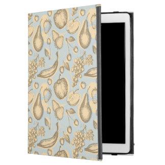 "Vintage fruits pattern iPad pro 12.9"" case"