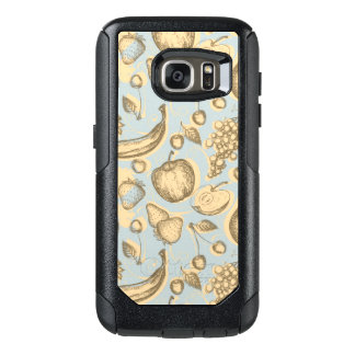 Vintage fruits pattern OtterBox samsung galaxy s7 case