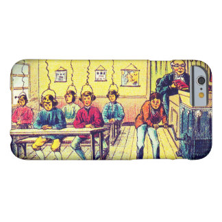 Vintage Futuristic Learning Machine iPhone Case Barely There iPhone 6 Case