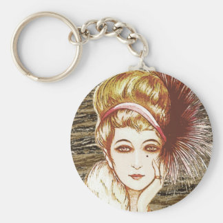 Vintage gal 2 key chains