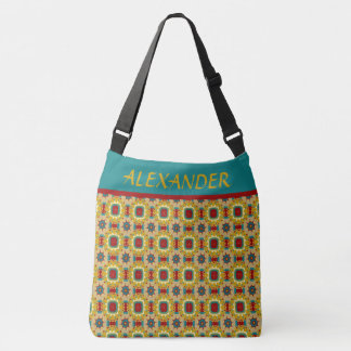 Vintage Game Board Personalized Diaper Bag