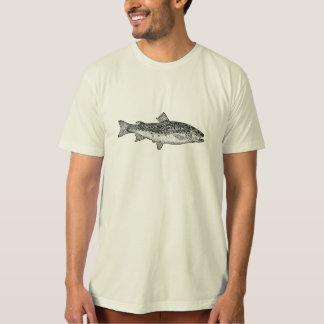 Vintage Gar Fish - Aquatic Fishes Template Blank T-Shirt
