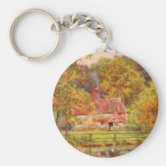 Vintage Garden Art - Allingham Helen Key Chain
