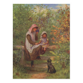 Vintage Garden Art - Allingham, Helen Post Cards