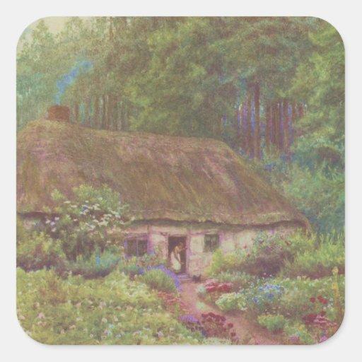 Vintage Garden Art - Allingham, Helen Stickers